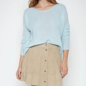 Joie Cropped Cashmere Sweater Size XS